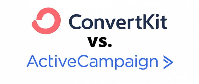 ConvertKit vs. ActiveCampaign
